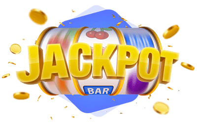Online Action Slot Game Spinning Reels Jackpot Icon