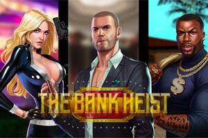 The Bank Heist Online Slot Logo