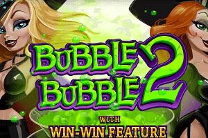 Bubble Bubble 2 Slot Game Logo