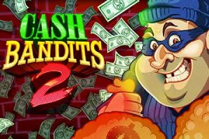 Cash Bandits 2 Online Slot Logo