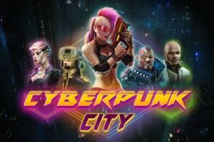 Cyberpunk City Online Slot Logo