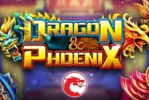 Dragons and Phoenix Online Slot Logo