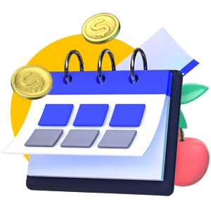 Monthly Calendar Icon