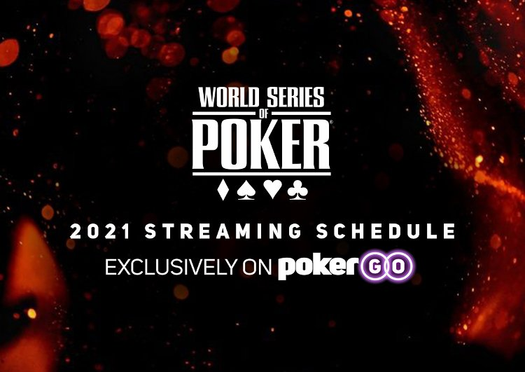 PokerGO 2021 WSOP Live Streaming Banner