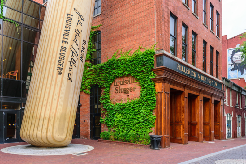 Louisville Slugger factory and museum