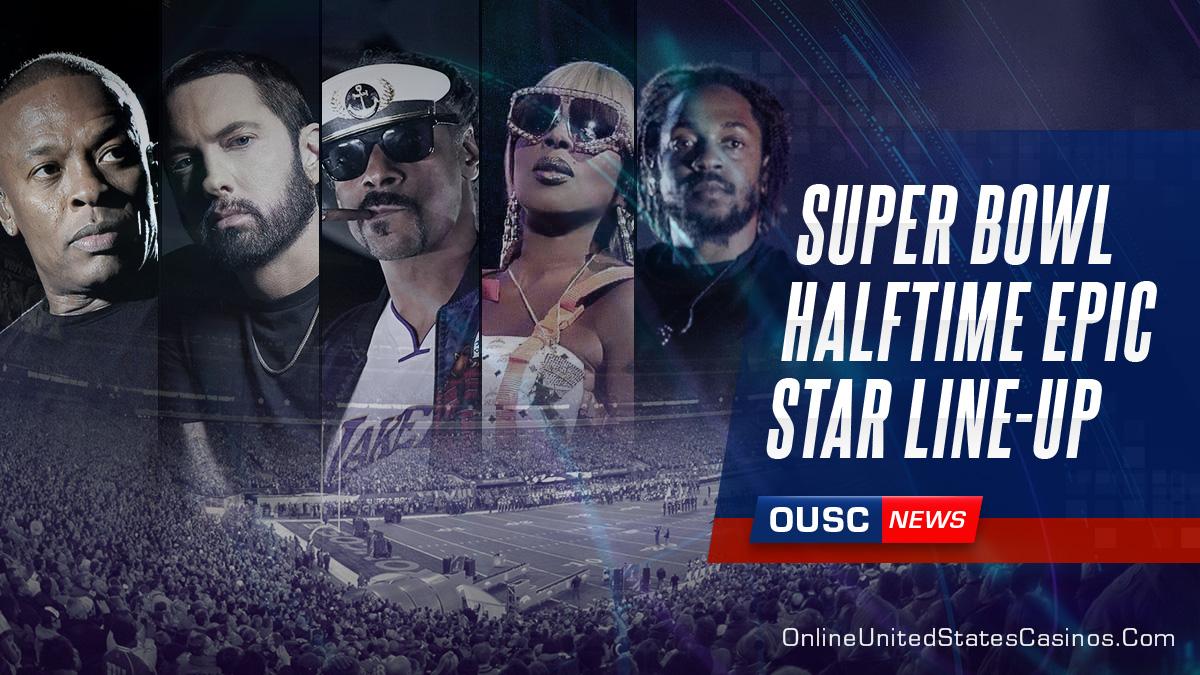 Super Bowl Halftime Show Epic Star Lineup